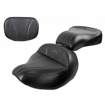 Roadliner / Stratoliner Midrider Seat, Passenger Seat and Sissy Bar Pad - Plain or Studded