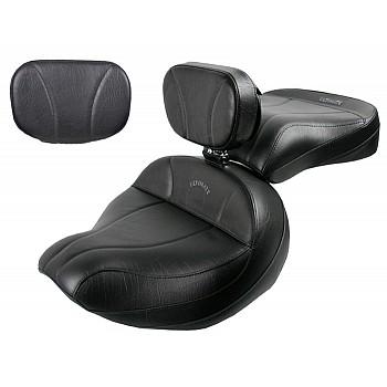 Roadliner / Stratoliner Midrider Seat, Passenger Seat, Driver Backrest and Sissy Bar Pad - Plain or Studded