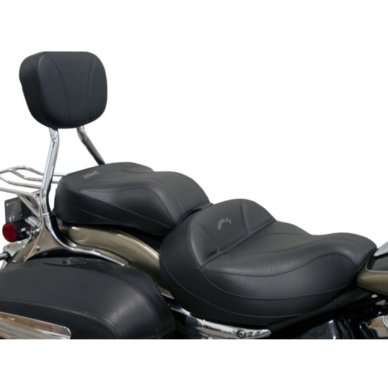 Roadliner / Stratoliner Midrider Seat, Passenger Seat and Sissy Bar Pad - Plain or Studded