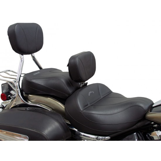 Roadliner / Stratoliner Midrider Seat, Passenger Seat, Driver Backrest and Sissy Bar Pad - Plain or Studded