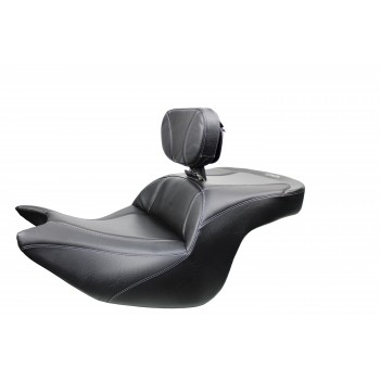 Goldwing Seat and Driver Backrest - Apex Carbon Fiber Inlay (2018 - 2021)