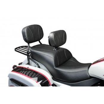 Challenger Seat, Driver Backrest and Sissy Bar Pad (2020 and Newer)