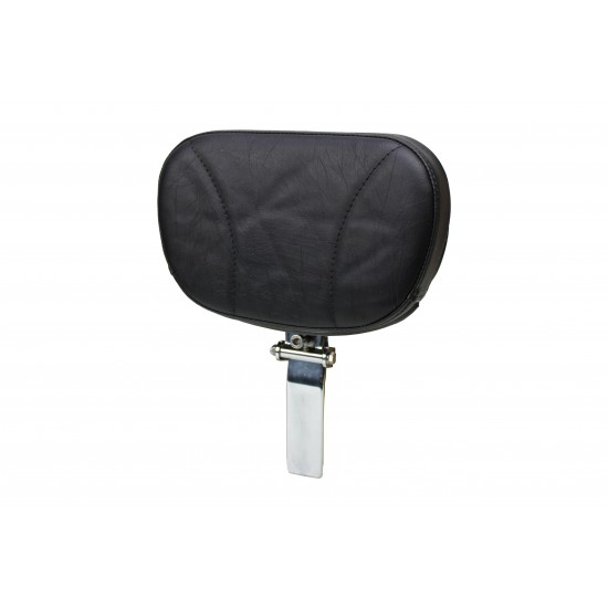Valkyrie Interstate Lowrider and Big Boy Driver Backrest - Plain or Studded
