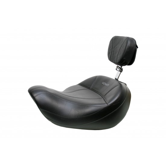 Valkyrie Interstate King Seat and Driver Backrest - Plain or Studded - (1999 - 2001)