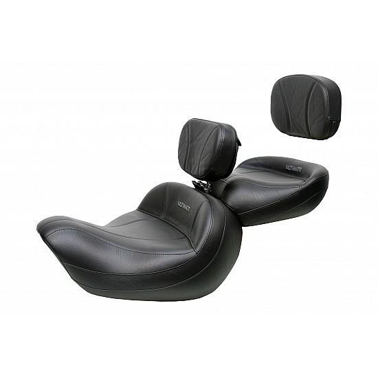 Valkyrie Standard / Tourer Big Boy Seat, Passenger Seat, Driver Backrest and Sissy Bar Pad - Plain or Studded