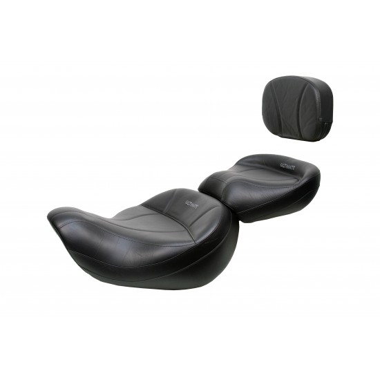 Valkyrie Standard / Tourer King Seat, Passenger Seat and Sissy Bar Pad - Plain or Studded