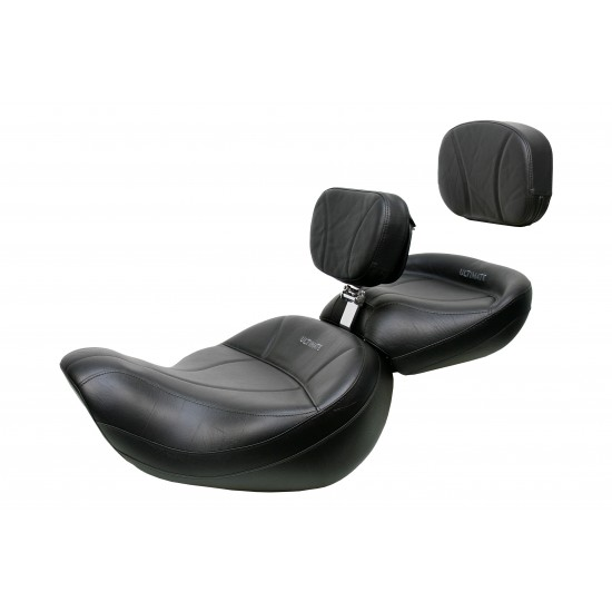 Valkyrie Standard / Tourer King Seat, Passenger Seat, Driver Backrest and Sissy Bar Pad - Plain or Studded