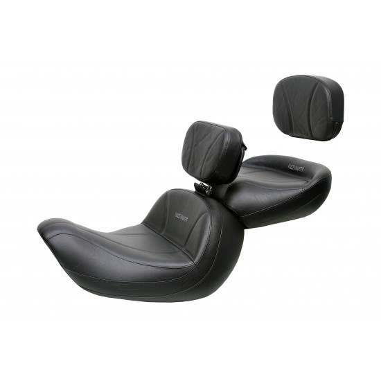 Valkyrie Standard / Tourer Lowrider Seat, Passenger Seat, Driver Backrest and Sissy Bar Pad - Plain or Studded