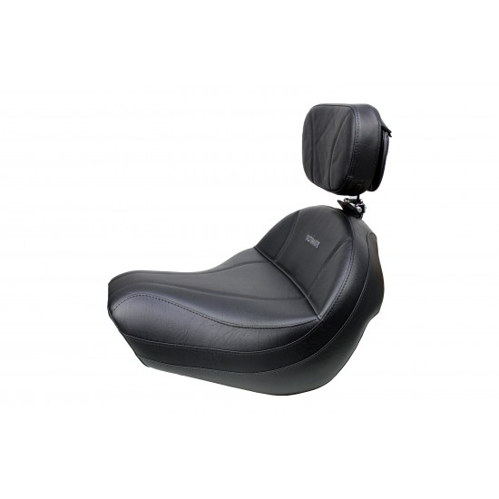 VTX 1300 R/S/T Big Boy Seat and Driver Backrest - Plain or Studded