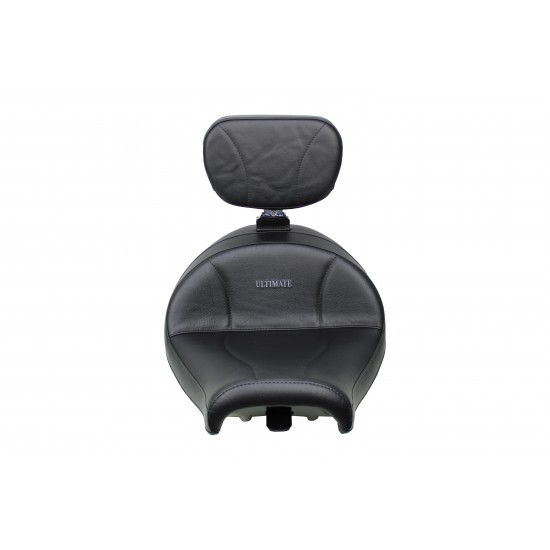 VTX 1300 R/S/T Lowrider Seat and Driver Backrest - Plain or Studded