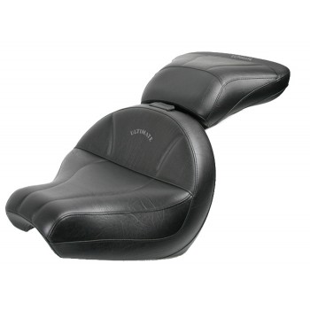 V-Star 1100 Custom Midrider Seat and Passenger Seat - Plain or Studded
