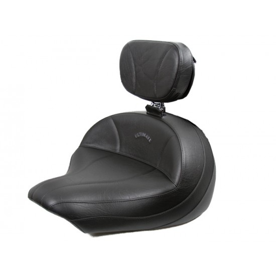 V-Star 1300 Midrider Seat and Driver Backrest - Plain or Studded