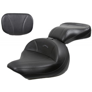 V-Star 1300 Midrider Seat, Passenger Seat and Sissy Bar Pad - Plain or Studded