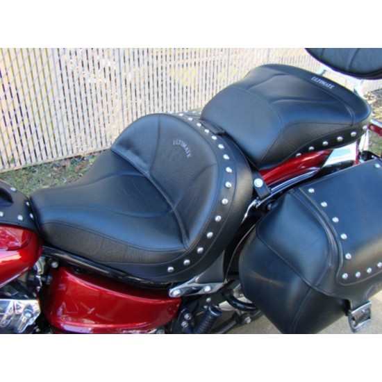 Special Buy: V-Star 650 Custom Lowrider Seat and Passenger Seat - Studded