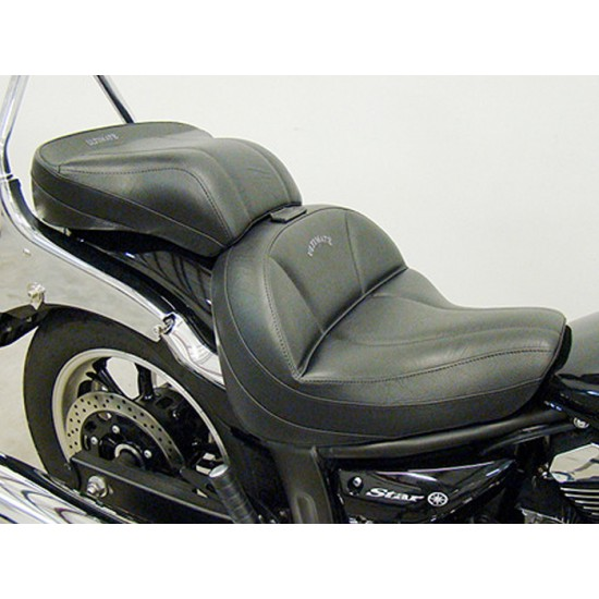 V-Star 950 Midrider Seat and Passenger Seat - Plain or Studded