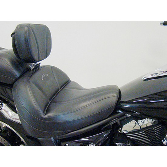V-Star 950 Driver Backrest - Plain or Studded