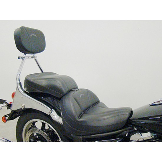 V-Star 950 Midrider Seat, Passenger Seat, and Sissy Bar Pad - Plain or Studded