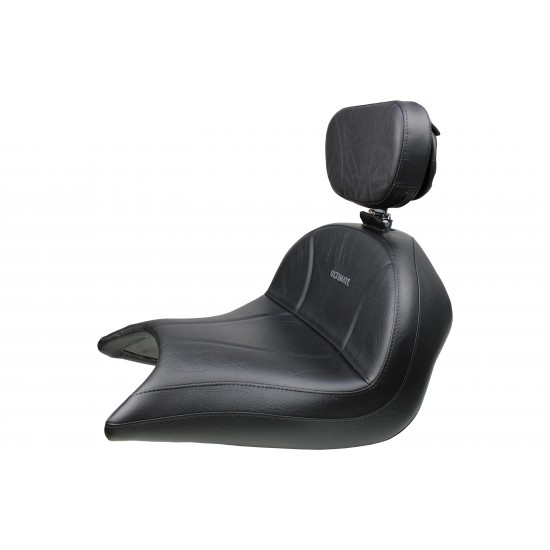 VTX 1800 R/S/T Lowrider Seat and Driver Backreset - Plain or Studded