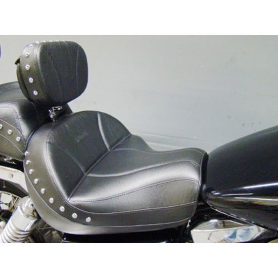 Vulcan 1500 Seat and Driver Backrest - Plain or Studded