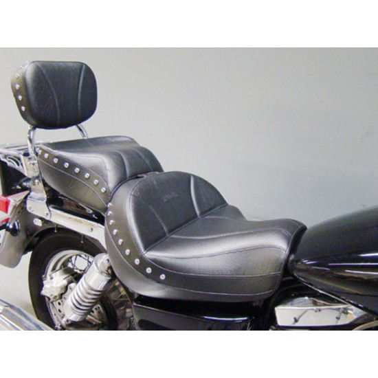 Vulcan 1500 Seat, Passenger Seat and Sissy Bar Pad - Plain or Studded