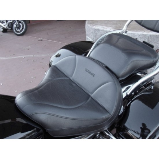 Vulcan 1600 Seat and Passenger Seat - Plain or Studded