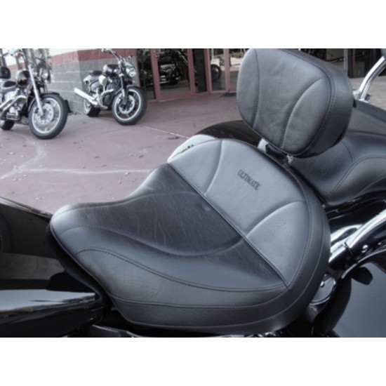 Vulcan 1600 Seat and Driver Backrest - Plain or Studded