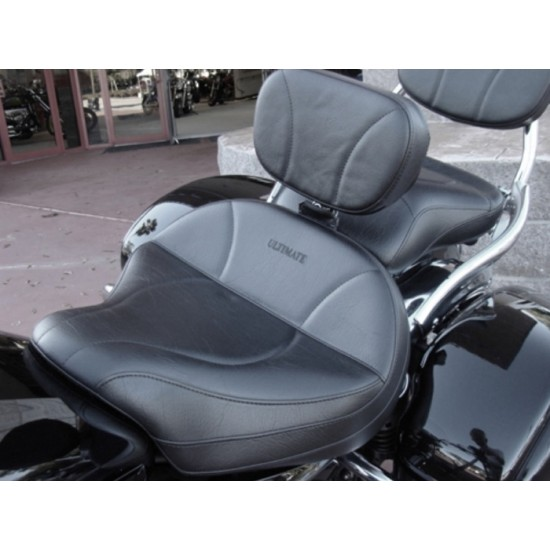 Vulcan 1600 Seat, Passenger Seat and Driver Backrest - Plain or Studded