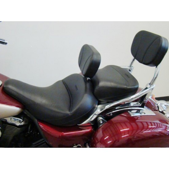 Vulcan 1700 Seat, Passenger Seat, Driver Backrest and Sissy Bar Pad - Plain or Studded
