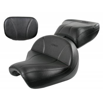 Vulcan 2000 Seat, Passenger Seat and Sissy Bar Pad - Plain or Studded