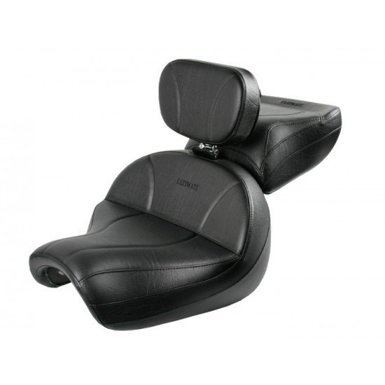 Vulcan 2000 Seat, Passenger Seat and Driver Backrest - Plain or Studded