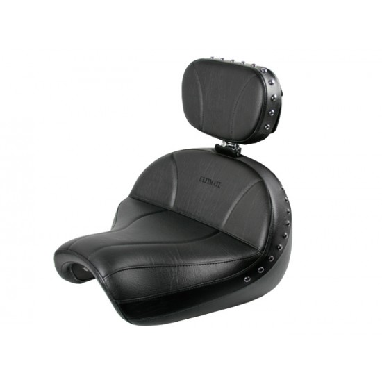 Vulcan 2000 Seat and Driver Backrest - Plain or Studded