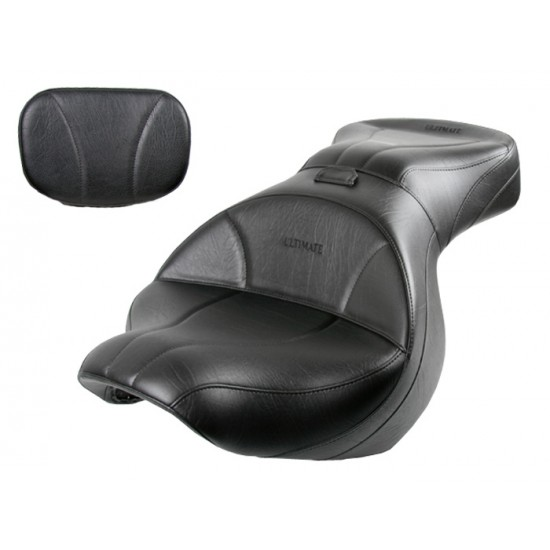 Vulcan 900 Classic Seat and Sissy Bar Pad - Plain or Studded