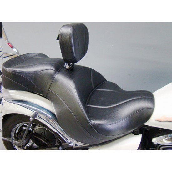 Vulcan 900 Classic Seat and Driver Backrest - Plain or Studded