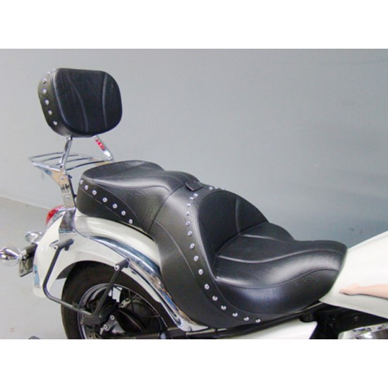 Vulcan 900 Custom Sissy Bar Pad - Plain or Studded